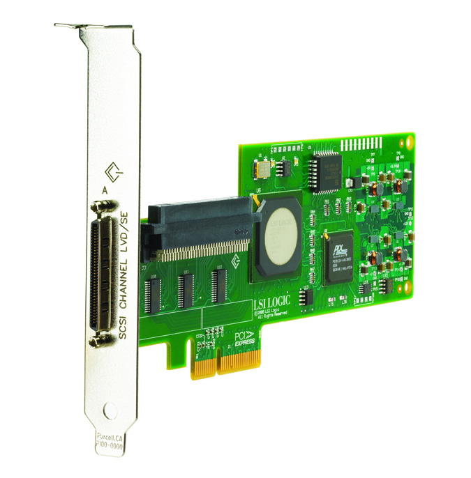 412911-B21 412911-B21 HP SC11Xe Ultra320 Single Channel/ PCIe x4 SCSI Host Bus Adapter