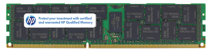 627812-B21 627812-B21 HP 16GB (1x16GB) Dual Rank x4 PC3L-10600 (DDR3-1333) Registered CAS-9 LP Memory Kit
