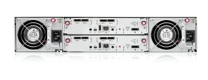 AW593B HP P2000 G3 SAS MSA Dual Controller LFF Array System