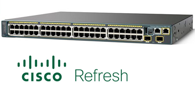 WS-C2960S-48TDL-RF WS-C2960S-48TDL-RF Cat 2960S 48 GigE 2 x 10G SFP+ LAN Base REFRESH 10days