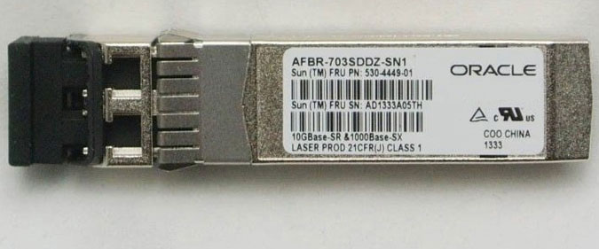 X2129A-N X2129A-N Oracle 10Gb/Sec Short Wave SFP+ Transceiver