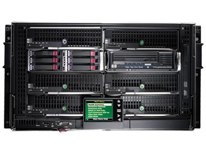 Hp Bladesystem C3000 C7000 Enclosures